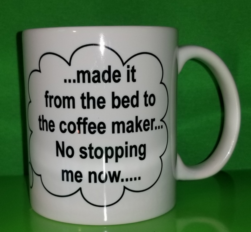 Coffee Thoughts Quot Bed To Coffee Maker Quot Creek Bank Printing